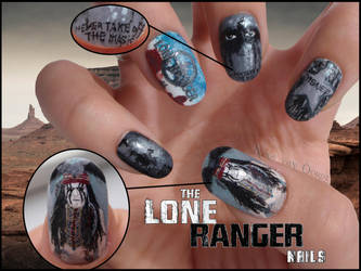 The Lone Ranger nails by Ninails