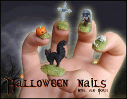 Halloween Nails by Ninails