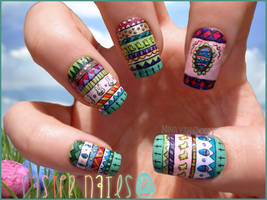 Easter Nails by Ninails