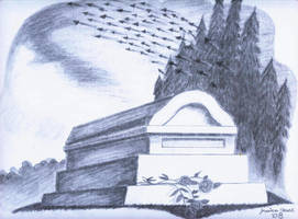 The white tomb by Priori-Incantartem