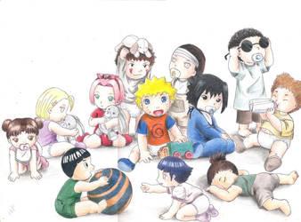 Baby Naruto Characters by wimpykid0