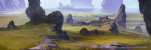 Plains environment concept by AnthonyPismarov
