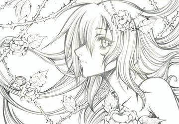 Sketch Eliza 2 by Cah-Poszar
