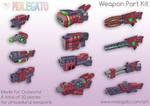 Portfolio: Outworld Weapons by molegato