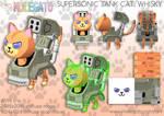Portfolio: Whisky the Supersonic Tank Cat by molegato