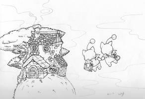 Mog House by molegato