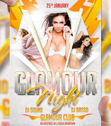 Glamour Night Flyer Template by LordFiren