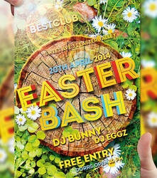 Easter Bash Flyer Template by LordFiren