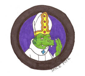 Sp Sp Sp SPACE POPE by reddeath-689