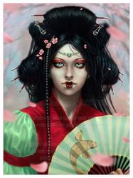 Hanagumori by Dianae