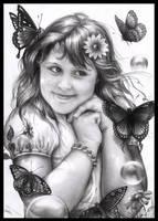 Pamela's little angel by Dianae
