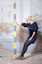 blue-yellow by Leonie-Letizia