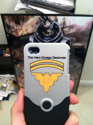 Garrus Iphone Case by CrazyIvan93