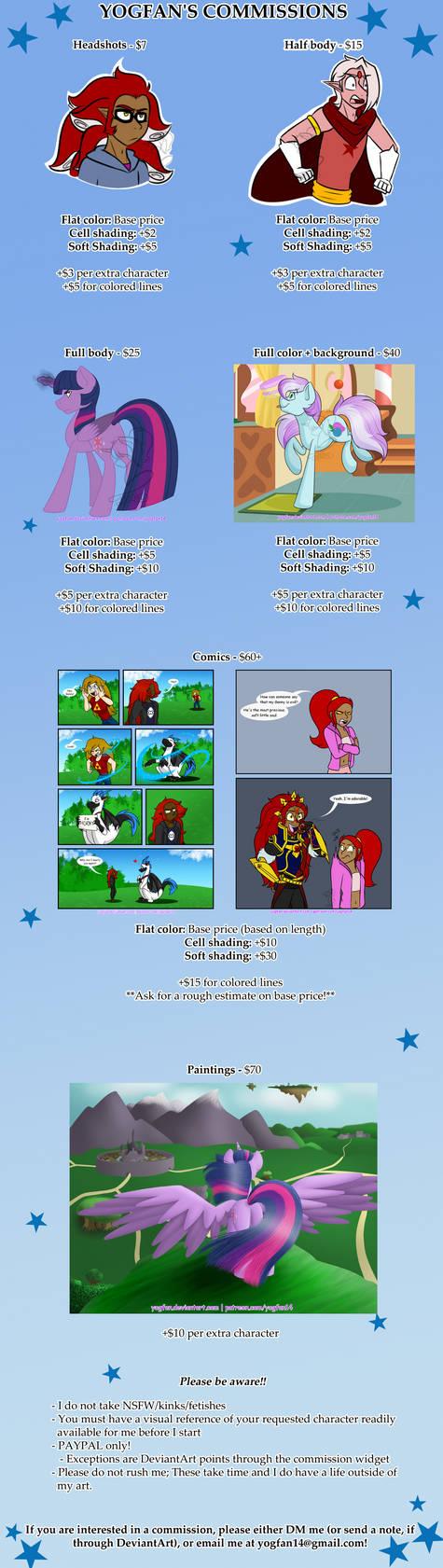 Commission Info by Yogfan