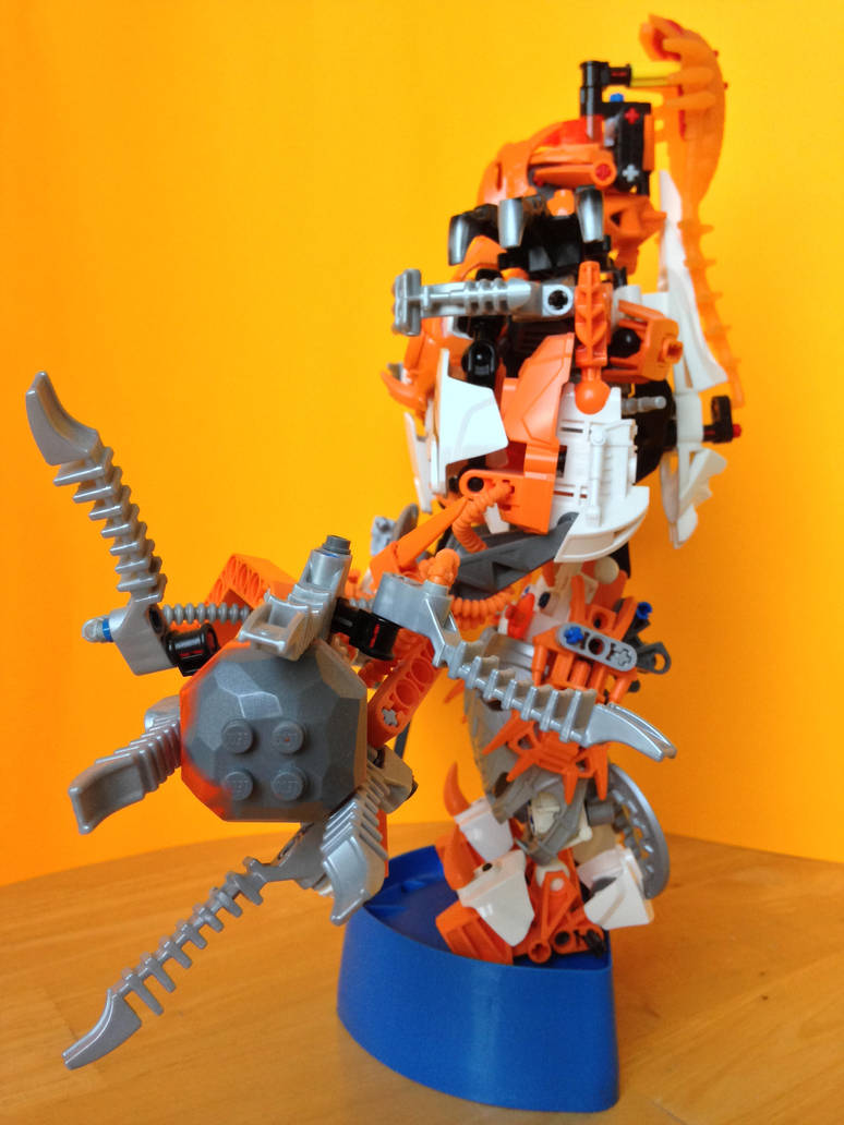 Bionicle Moc Toa Of Plasma Attacked By Zaktan By Vilam73128 On