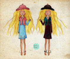 Summer and Fall by CloverKane