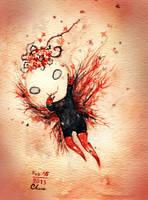 the dark valentine clover by CloverKane