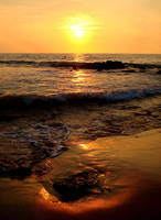 Hapuna Bay sunset by joseluisrg