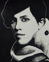 Sara Quin again by FrankTheSixFootBunny