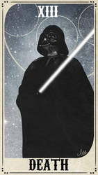 Star Wars Tarot Deck - XIII Death by ctyler