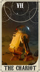 Star Wars Tarot Deck - VII The Chariot by ctyler