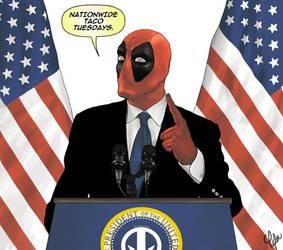 Deadpool 4 Prez by ctyler