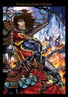 Castlevania Lords of Shadow Fire-Ice by SatoakiAmatatsu