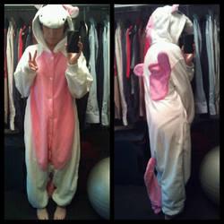 .:Pink Unicorn Kigurumi:. by Chibi-Mochi-Bun