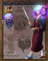 Pokimono: Kohaku by kittytheAngel