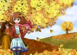 The leaves of fall by Azalonozul