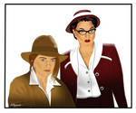Melinda Pappas and Janice Covington by ARTbyKLIPP