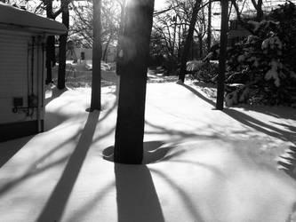 Winter In a Quiet Suburb by Benerror