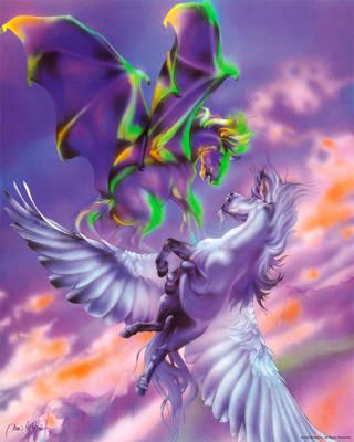Fighting Pegasus by DanMcManis