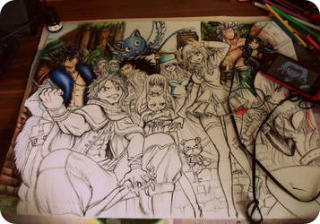 wzorowane , Fairy Tail A2 by Telemaniakk