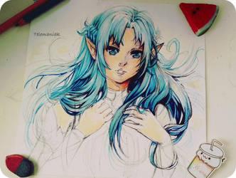 Asuna by Telemaniakk