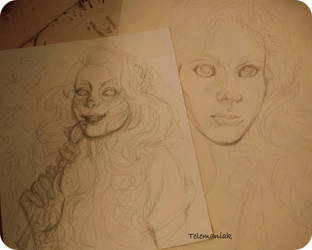 zombie /banshe by Telemaniakk