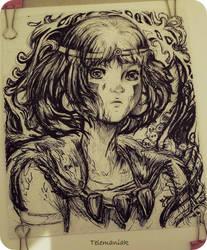 Princess Mononoke by Telemaniakk
