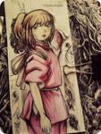 Spirited Away chihiro by Telemaniakk