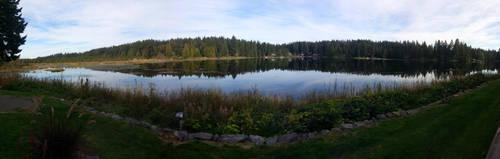 Lake (panorama) by KillerWereWolf1