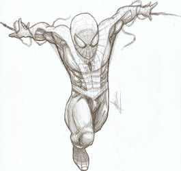 Amazing Spider-man -pencil- by britolitos96