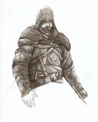 Ezio AC:Revelations -WIP- by britolitos96