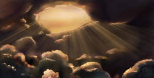 Cloudscape WIP by kendrin