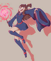 Little Witch Academia - Akko by Gilzean