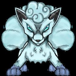 Pokemon Request - Alolan Vulpix by dragonfire53511