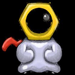 Pokemon Request - Meltan by dragonfire53511