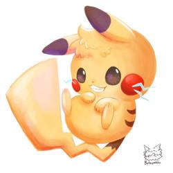 Pikachu by Butapokko