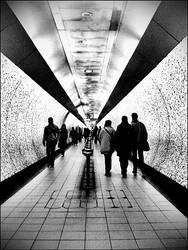 In The Underground. by ellegothgirl