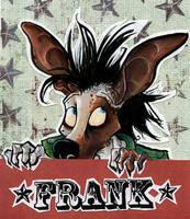 Frank Badge by skurvies