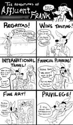 The adventures of affluent Frank by skurvies