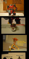 Drunken Woody by ChexMex89